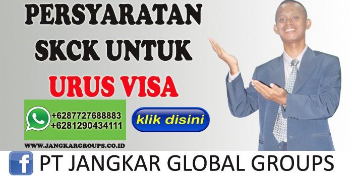 persyaratan skck untuk urus visa