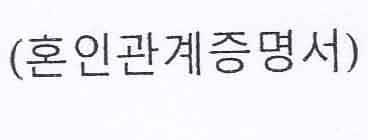 surat keterangan singel korea