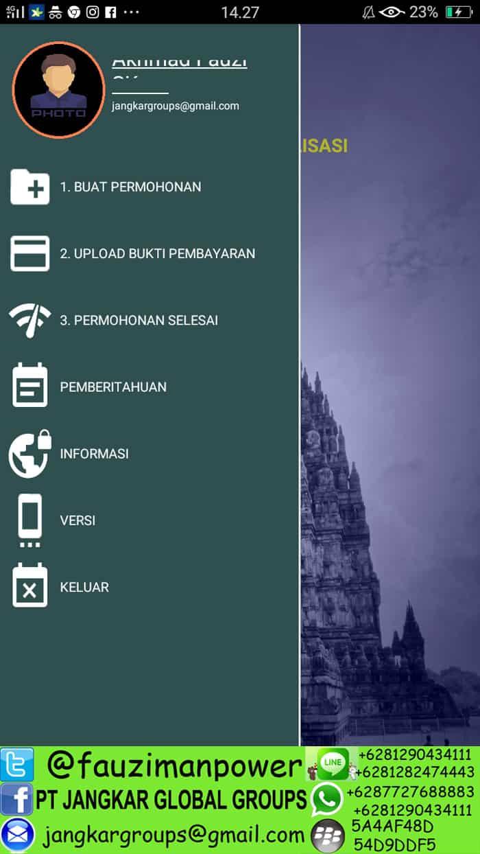 aplikasi online legalisasi kemenlu