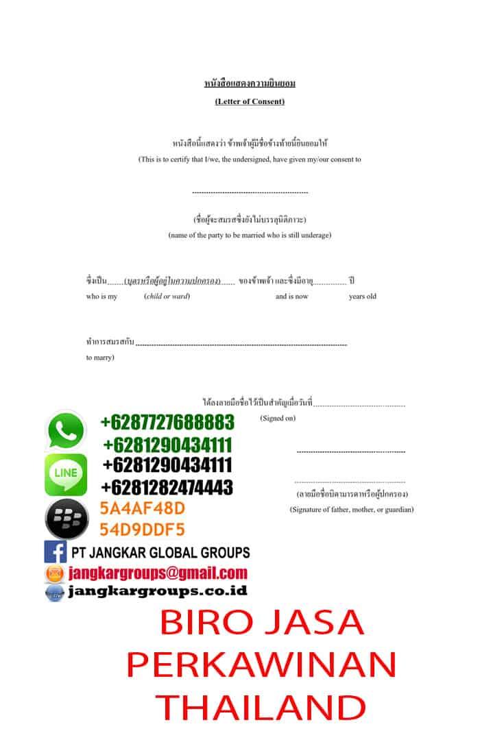 biro jasa perkawinan campuran thailand