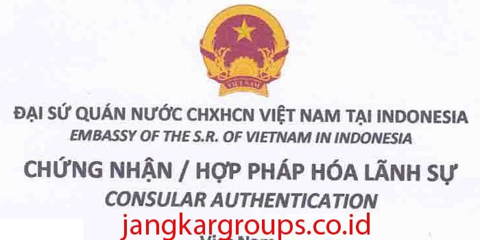 legalisir akta kelahiran di kedutaan vietnam