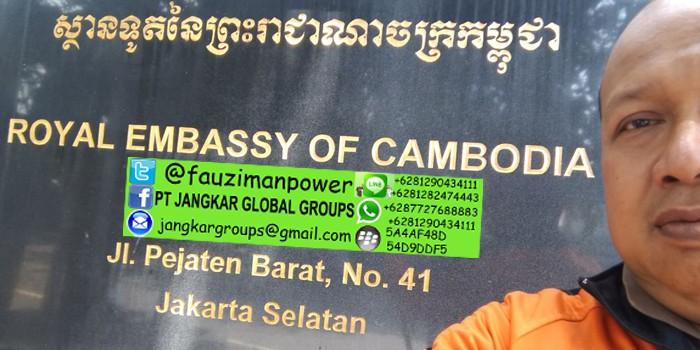 persyaratan menikah dengan wna cambodia