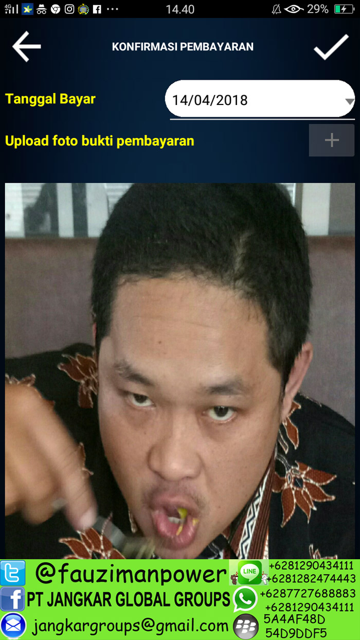 upload foto bukti pembayaran legalisasi kemenlu