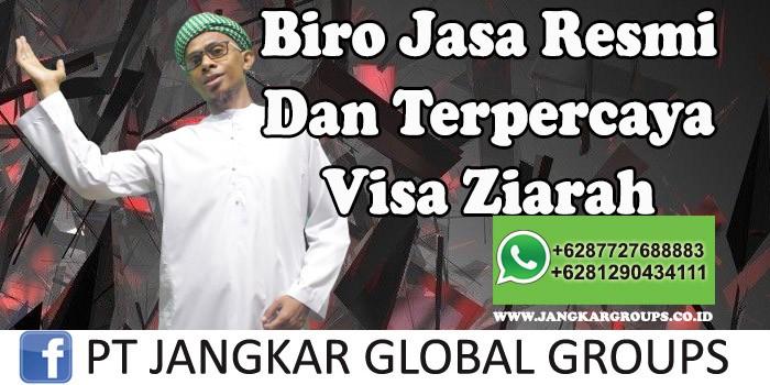 Biro Jasa Resmi Dan Terpercaya Visa Ziarah