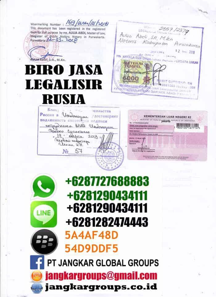 Legalisir ijasah bahasa rusia3