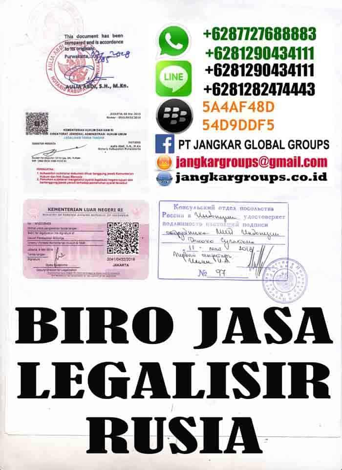 Legalisir kontrak kerja rusia3