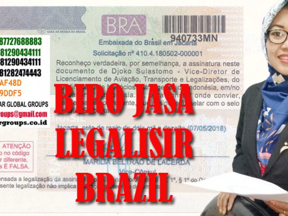 Legalisir skck di kedutaan brazil