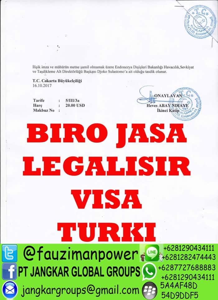 biro jasa legalisir dokumen turki