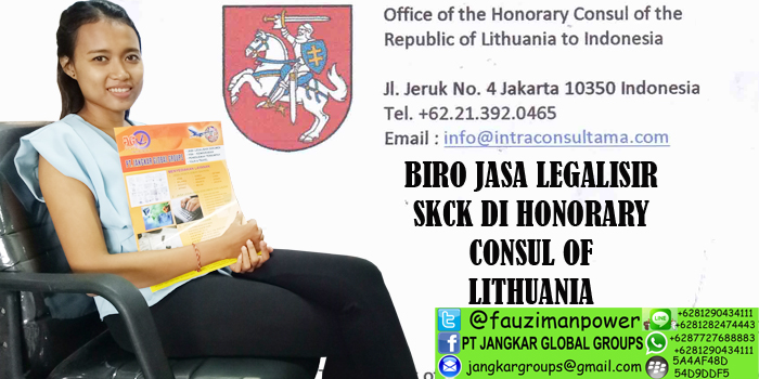 legalisir skck di honorary consul of republic of lithuania