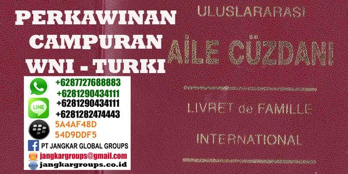 persyaratan menikah wni di turki