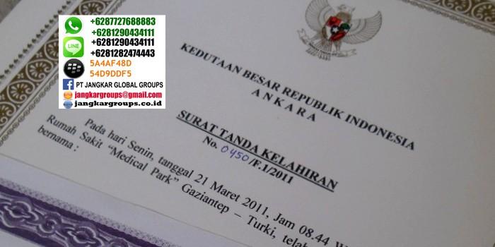 persyaratan pencatatan kelahiran di KBRI Turki