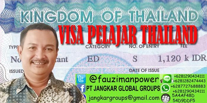 persyaratan visa belajar ke thailand