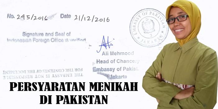 persyaratan wni menikah di pakistan
