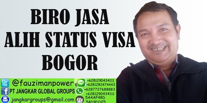 biro jasa alih status visa bogor