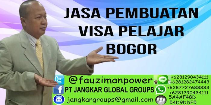 jasa pembuatan visa pelajar bogor