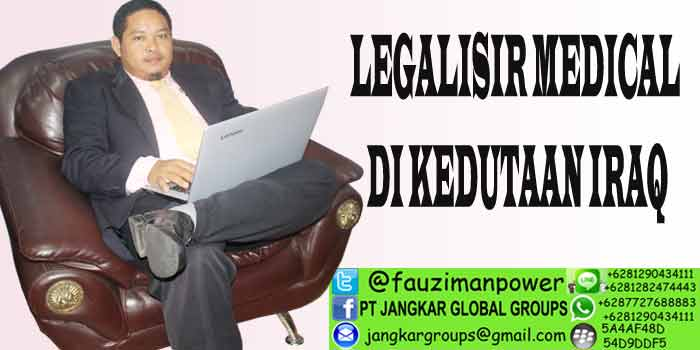 LEGALISIR MEDICAL DI KEDUTAAN IRAQ