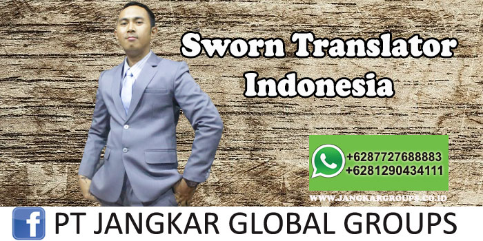 Sworn Translator Indonesia