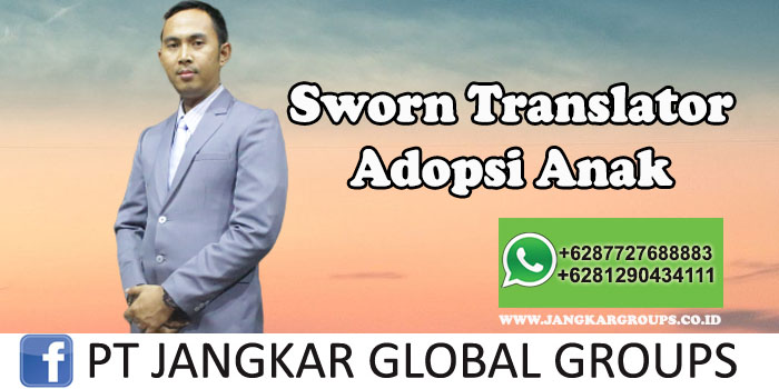 Sworn Translator adopsi anak