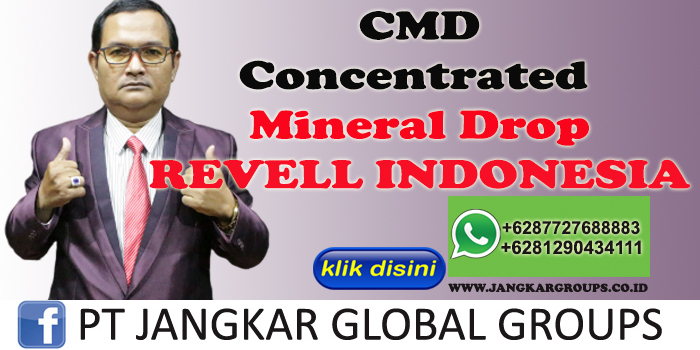 CMD Concentrated Mineral Drop Revell Indonesia