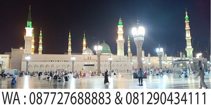 Sholat Subuh di masjid nabawi madinah