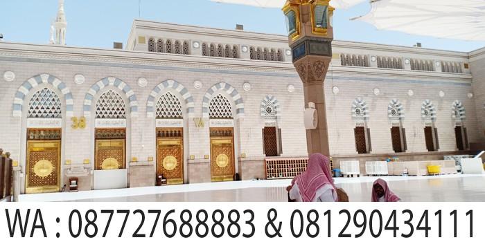adzan duhur di masjid madinah