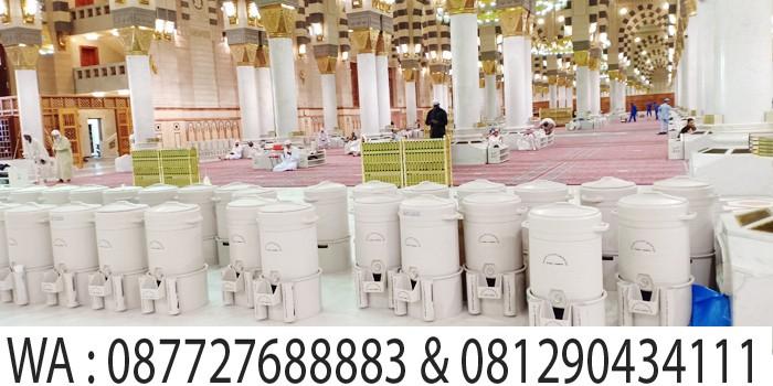 air zamzam di masjid madinah