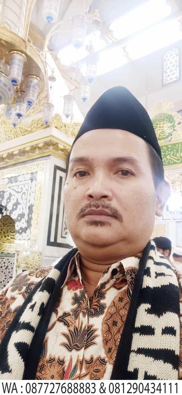 akhmad fauzi di raudha masjid nabawi madinah