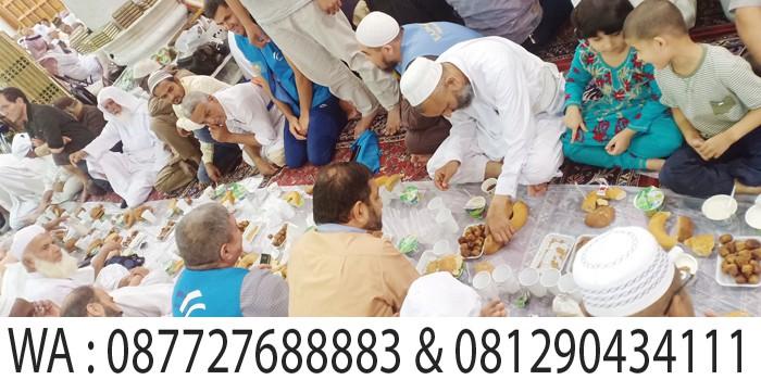 buka puasa di masjid nabawi madinah