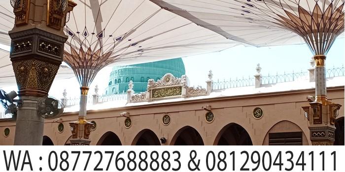 kubah hijau masjid nabawi madinah