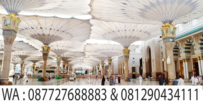 payung masjid nabawi
