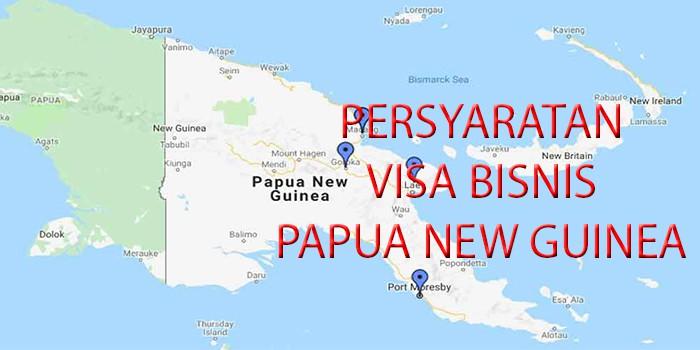 persyaratan visa bisnis papua new guinea