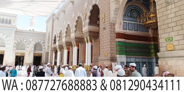 sholat duhur di masjid nabawi madinah