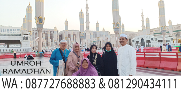 umroh ramadhan madinah safar arroyan travelindo