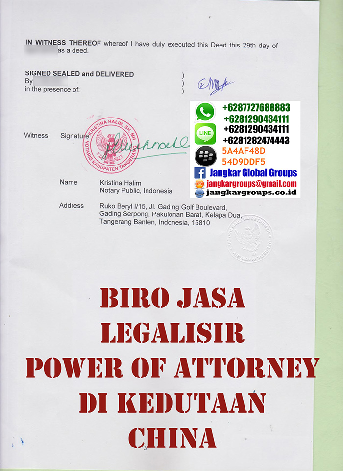 Legalisir power of attorney china4