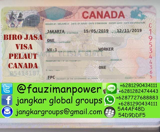 Visa Kerja Canada - biro jasa pengurusan visa