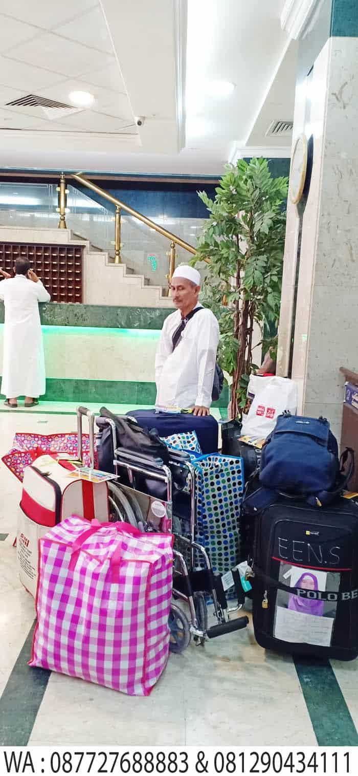 check out dari hotel riyadh azzahra madinah