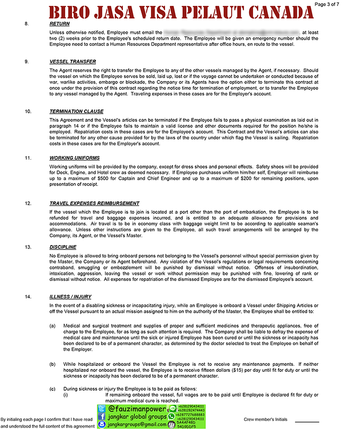 employment contract canada3