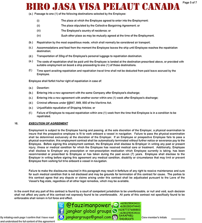 employment contract canada5