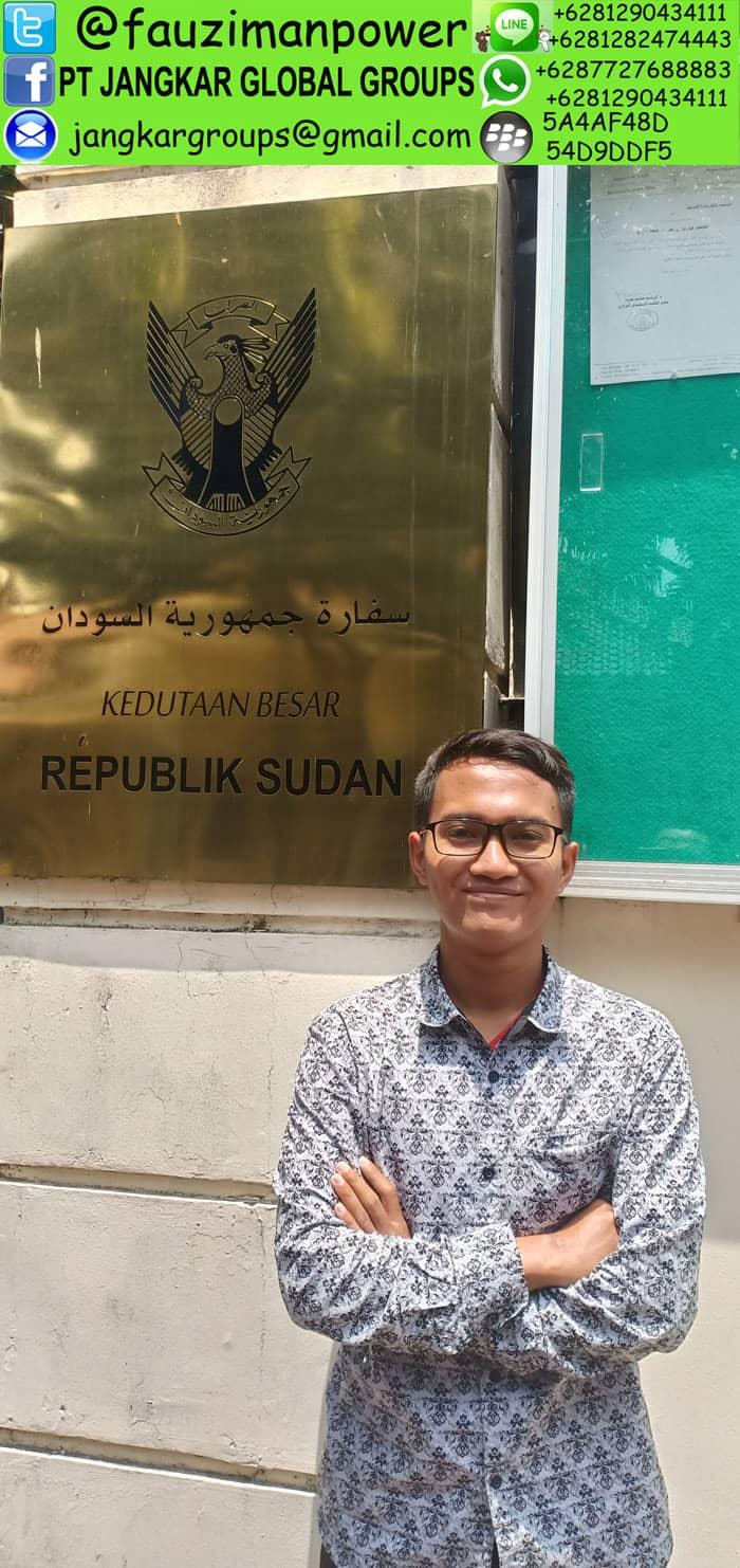 kedutaan sudan di jakarta
