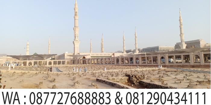 makam baki di samping masjid nabawi madinah