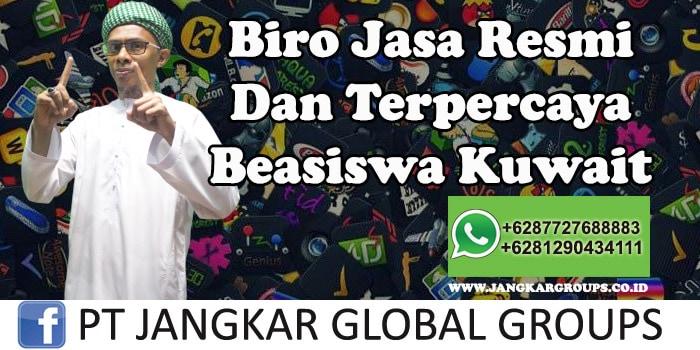 Biro Jasa Resmi Dan Terpercaya Beasiswa Kuwait