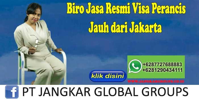 Biro Jasa Resmi Visa Perancis Jauh dari Jakarta