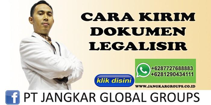 CARA KIRIM DOKUMEN LEGALISIR