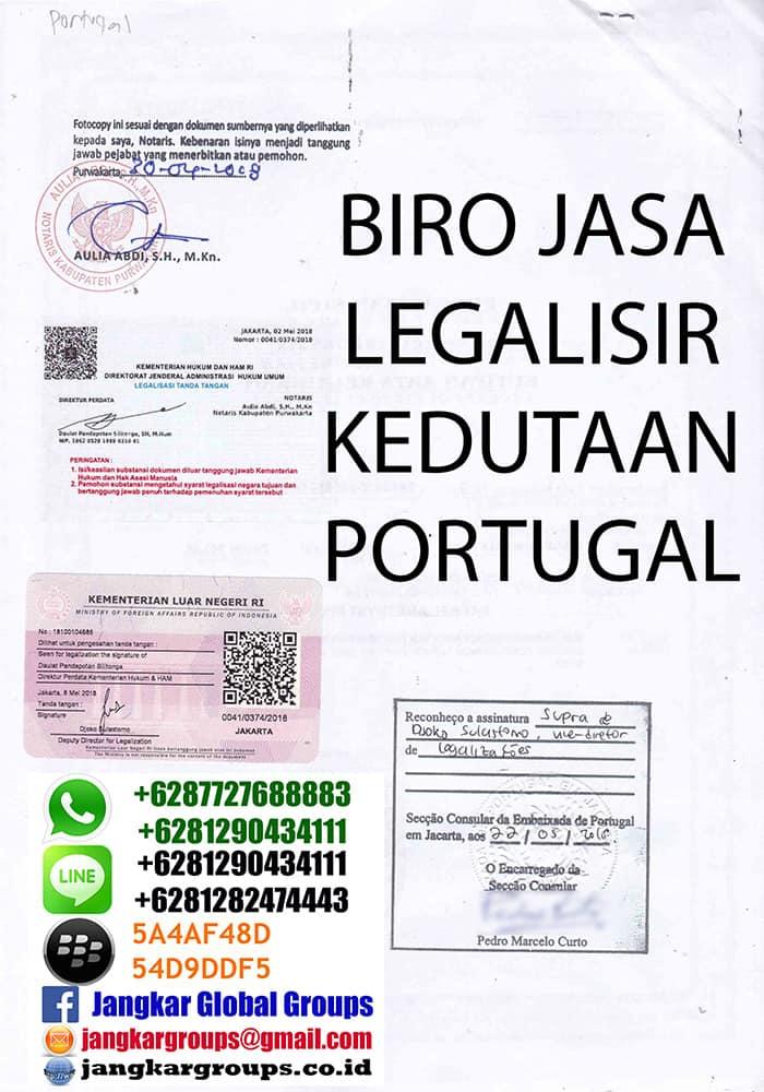 Legalisir akte kelahiran portugal2