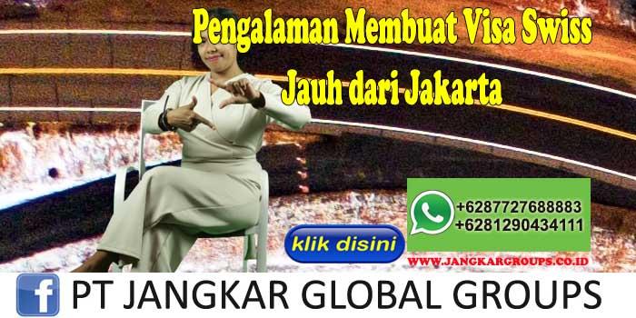 Pengalaman Membuat Visa Swiss Jauh dari Jakarta