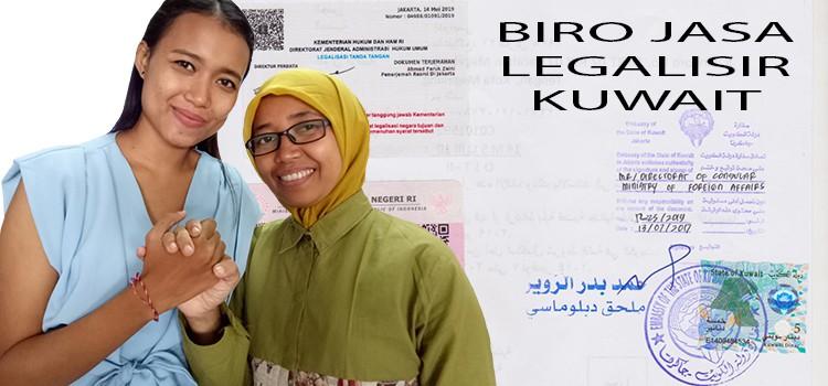 jasa legalisir ijazah di kedutaan Kuwait