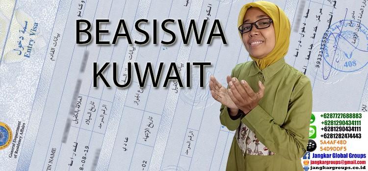 legalisir dokumen penawaran beasiswa kuwait university