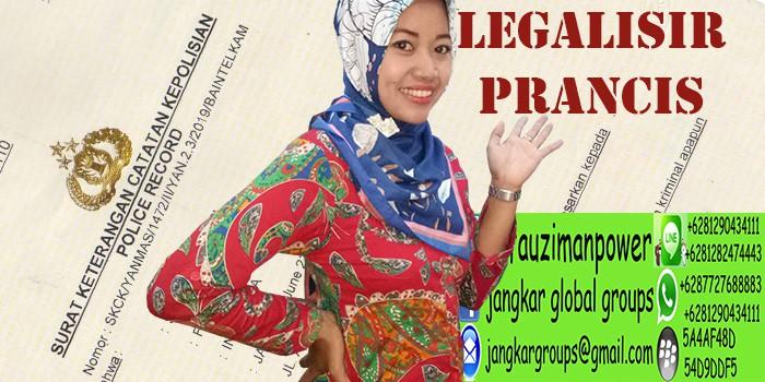 legalisir skck citizenship di kedutaan prancis