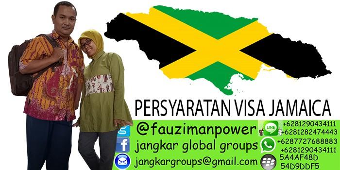 persyaratan visa jamaica