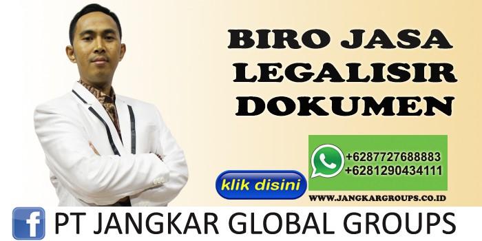 BIRO JASA LEGALISIR DOKUMEN